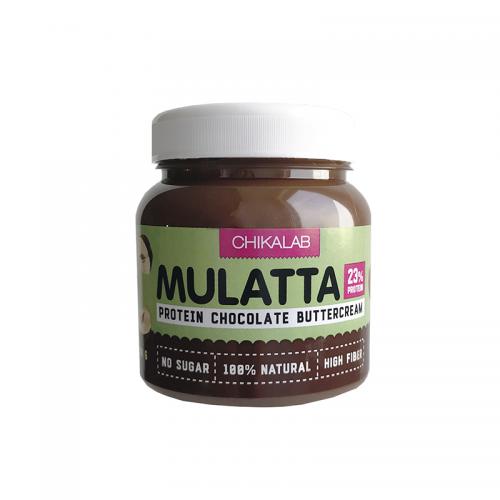 Паста шоколадная с фундуком MULATTA Chikalab (250 г)