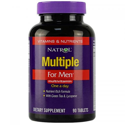 Мультивитамины для мужчин Multiple for men Natrol (90 таблеток)