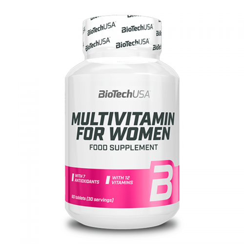 Мультивитамины для женщин Biotech USA (60 таблеток)