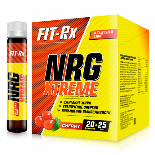 NRG Xtreme 1 amp Fit-Rx