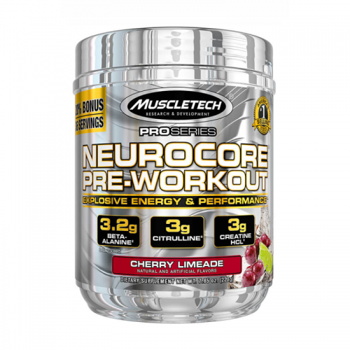 Предтрен Neurocore Pre-workout Muscletech (223 г)