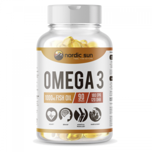 Omega 3 Nordic Sun (1000 мг, 90 капсул)