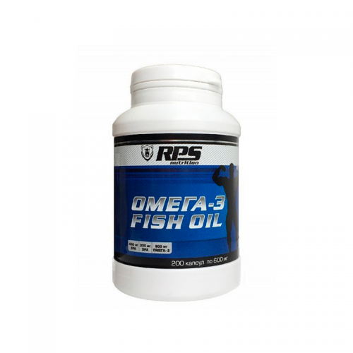 Рыбий жир Fish Oil RPS Nutrition (200 капсул)