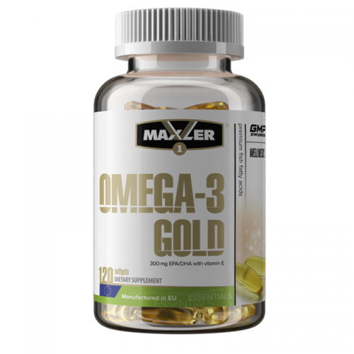 Omega-3 Gold 120 softgels Maxler