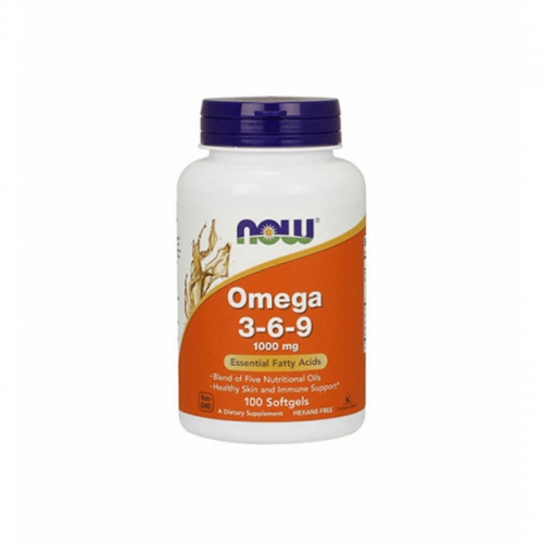 Omega 3-6-9 1000 мг NOW (100 капсул)