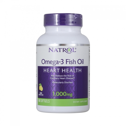 Omega-3 Fish Oil (Фиш Ойл) Natrol (1000 мг, 90 капсул)