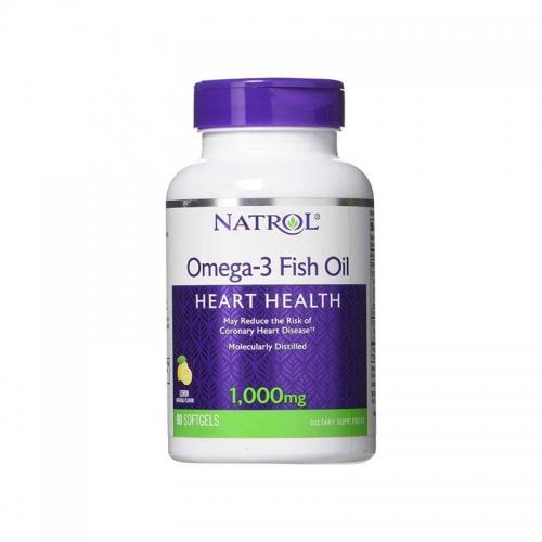 Omega Natrol (1000 мг, 90 капсул)