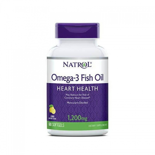 Omega-3 Fish oil (1200 мг, 60 капсул) Natrol
