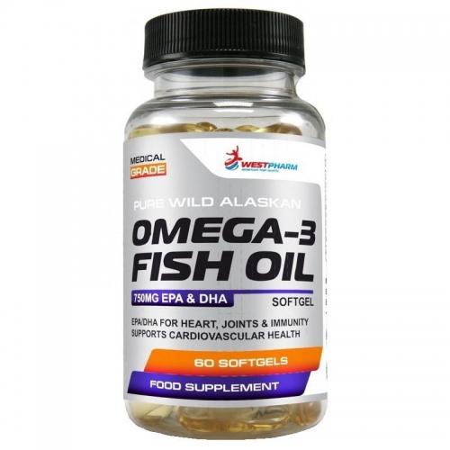 Omega-3 (60 капсул) Westpharm