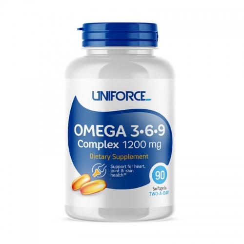 Omega-3-6-9 1200 мг Uniforce (90 капсул)