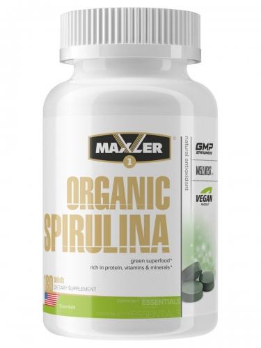 Спирулина Organic Spirulina Maxler 500 мг (180 таблеток)
