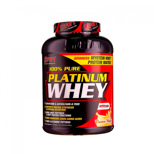 Протеин Pure Platinum Whey SAN (2270 г)