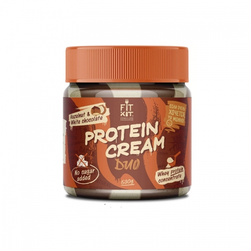 Protein cream DUO (530 г) Fit Kit