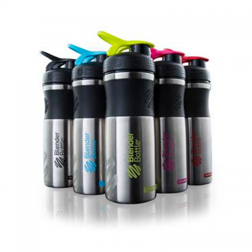 Шейкер SportMixer Stainless Blender Bottle, сталь (828 мл)