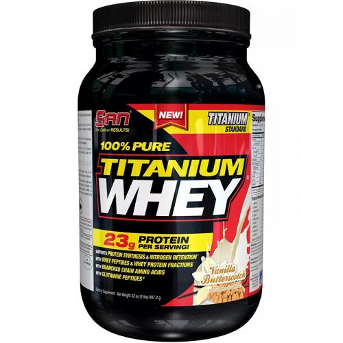 Протеин Pure Titanium whey SAN (908 г)