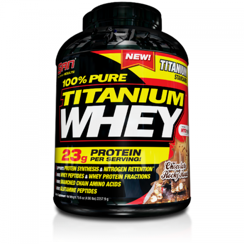 Pure Titanium whey 2270 gr SAN