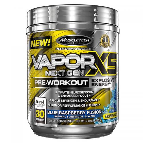 Предтрен Vapor X5 Next Gen Muscletech (30 порций)