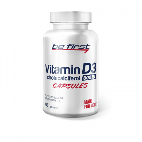 Витамин D3 Be First (60 капсул)