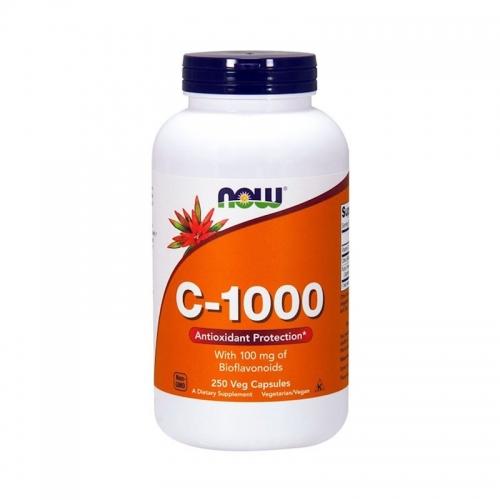 Vitamine C 1000 мг (250 капс) NOW
