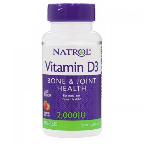 Vitamin D3 2 000 Natrol (90 таблеток)