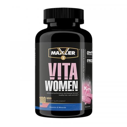 Мультивитамины для женщин VitaWomen Maxler (180 таблеток)