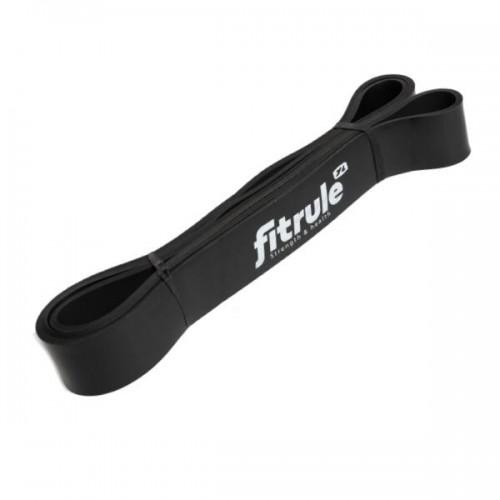 Резинка для фитнеса (эспандер) FitRule (1000см х 25 кг) Черный