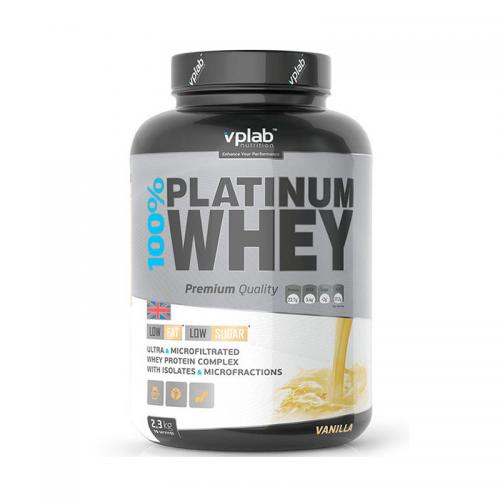 Протеин 100% Platinum Whey VP Lab (2270 г)