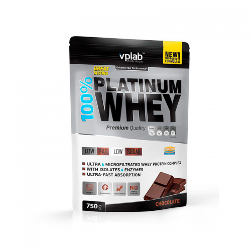 Протеин 100% Platinum Whey VP Lab (750 г)