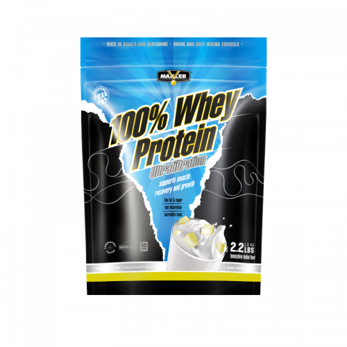 Протеин Ultrafiltration 100% Whey Protein bag Maxler (1000 г)