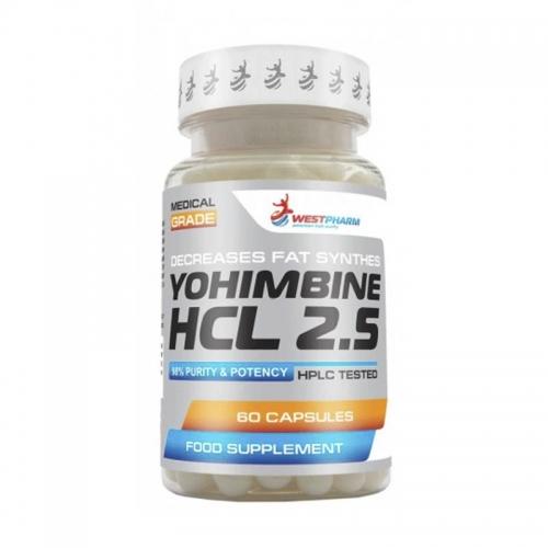 Yohimbine HCL 2.5 (60 капс) Westpharm