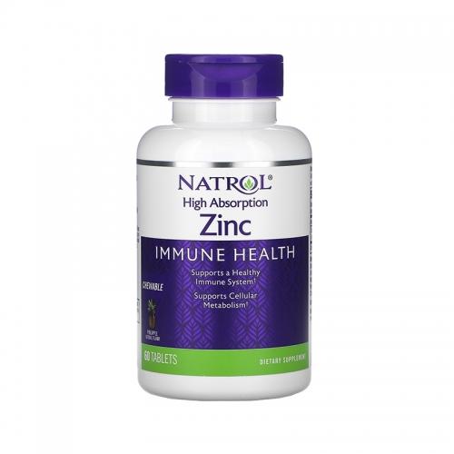 Zinc High absorption (60 жев табл) Natrol