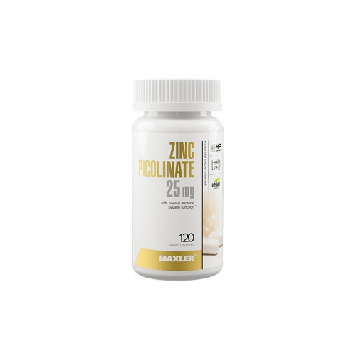Zinc picolinate 25 мг (120 капсул) Maxler