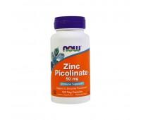 Zinc picolinate 50 мг (120 кап) NOW