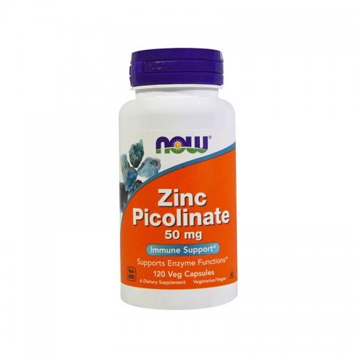 Цинка пиколинат 50 мг NOW (120 капсул)