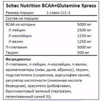 Bcaa+Glutamine Xpress 600 gr Scitec