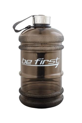 Бутылка для воды Be first, чёрная прозрачная (2200 мл)