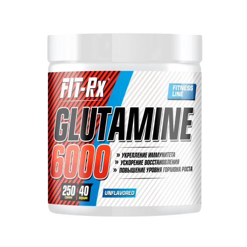 Глютамин Glutamine 6000 Fit-Rx (250 г)