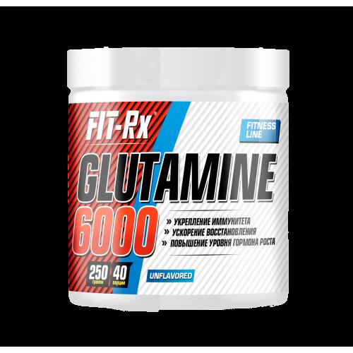 Глютамин Glutamine 6000 Fit-Rx (250 г)
