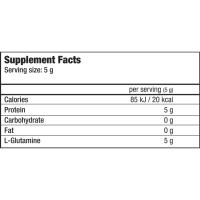 Глютамин Biotech USA Glutamine ZERO (240 г)