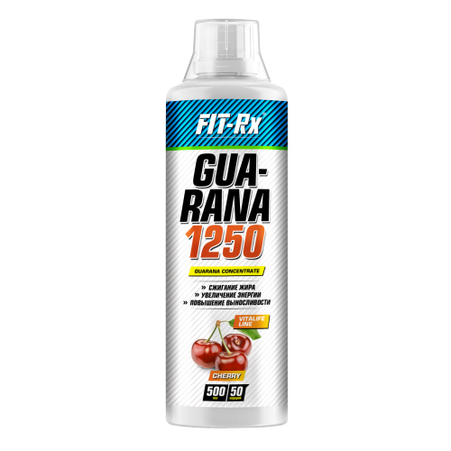 Энергетик Guarana 1250 Fit-Rx (500 мл)