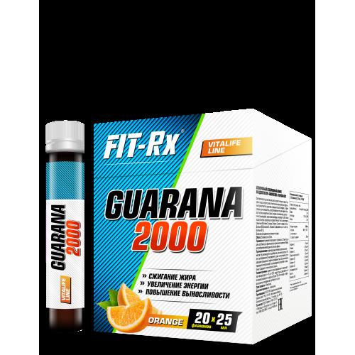 Энергетик Guarana 2000 Fit-Rx (1 ампула, 25 мл)
