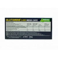 Аминокислоты L-Glutamine Megacaps Olimp (1400 мг, 120 капсул)