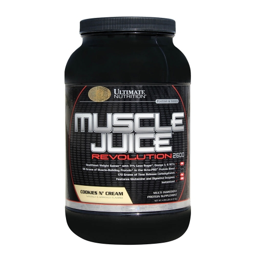 Гейнер Muscle Juice Revolution 2600 Ultimate Nutrition (2120 г)