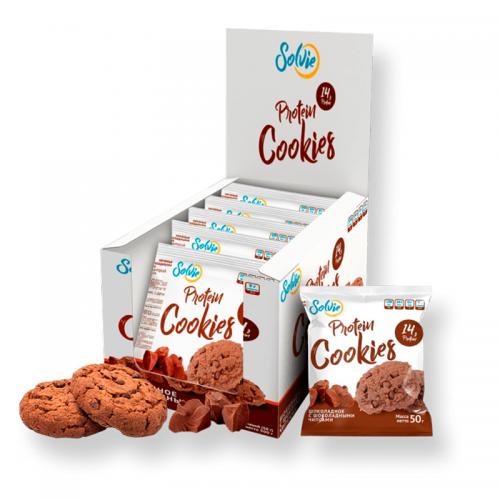 Протеиновое печенье Protein Cookies Solvie (50 г)