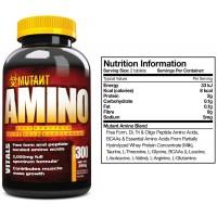 Аминокислоты Amino Mutant (300 таблеток)