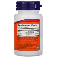 Витамин B12 5000 мкг + Folic Acid NOW (60 таблеток)